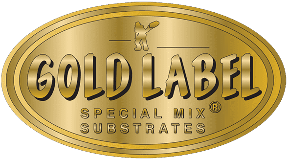 Gold Label Logo - links to home