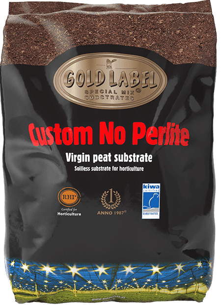 Black bag of Gold Label Special Mix Custom No Perlite
