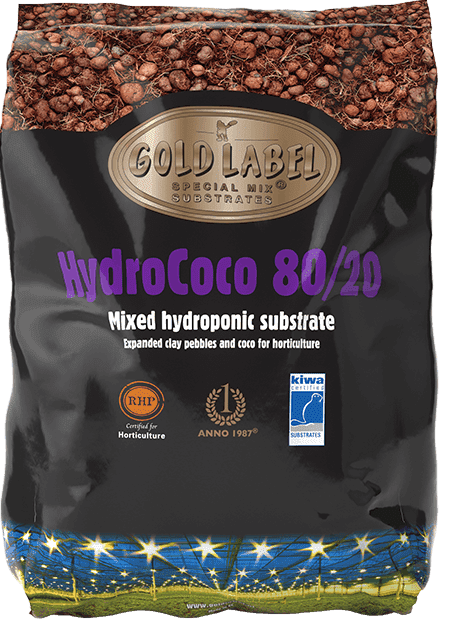 Black bag of Gold Label HydroCoco 80/20