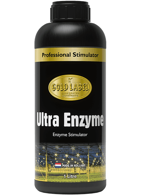 Black bottle of Gold Label Ultra Enzyme