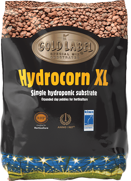 Black bag of Gold Label Hydrocorn XL