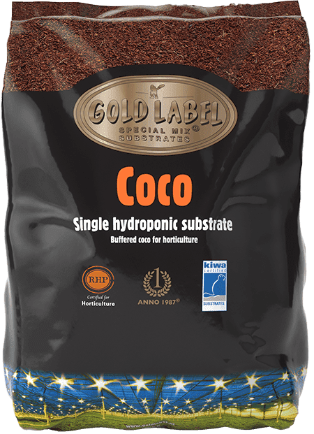 Black bag of Gold Label Coco