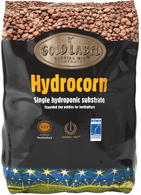Black bag of Gold Label Hydrocorn